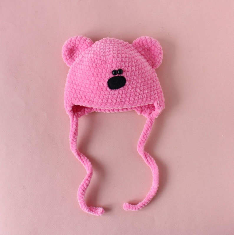 How To Make The Softest Baby Bear Hat Crochet Pattern   796x794