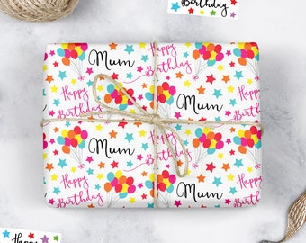 Personalised Christmas Wrapping Paper LITTLE MIX Style b