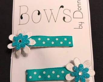 Mini Hair Clips pair