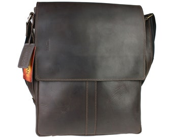 30e9df689b Men s vertical leather tablet bag vertical bag
