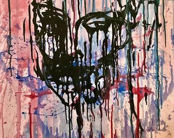 Abstract Painting Original Contemporary Art, by Jonas Jakstas