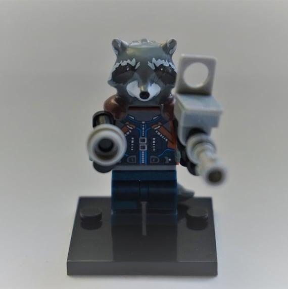 ROCKET RACCOON GUARDIANS OF THE GALAXY FIGURE MINI Blocks PLAY WITH LEGOS USA