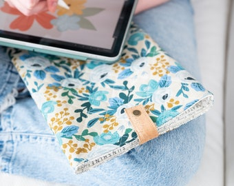 Soft Tablet Case - Protective iPad Cover - Padded Tablet Sleeve - Storage Pocket for Laptop