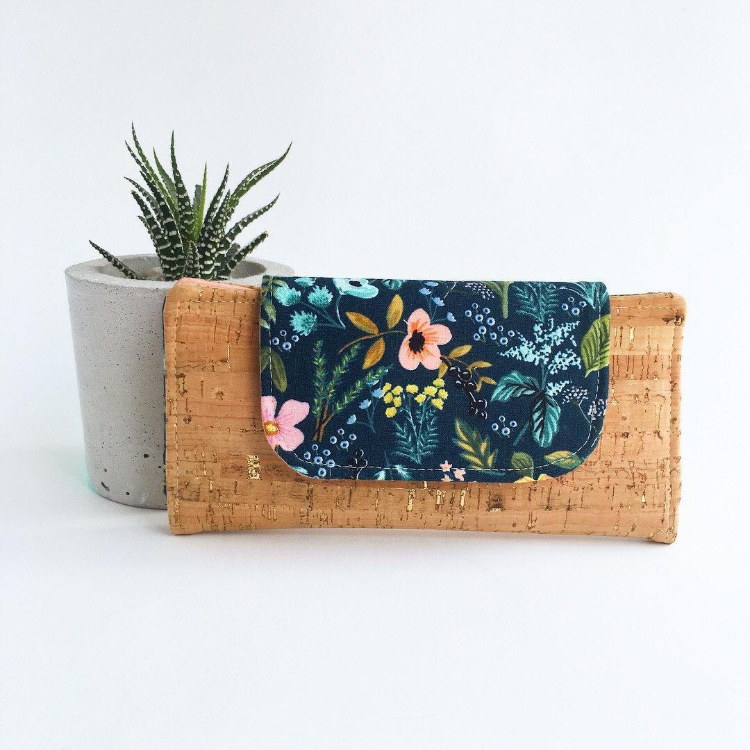 CUSTOM Slim Women's Wallet  DesignYour Own Minimalist image 0