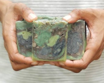 Irish Greens Mens Camo Soap   Hunting Dad Gift   Fathers Day Gift
