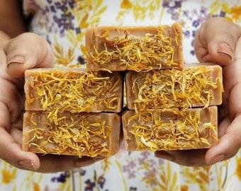 Botanical Soap with Marigold  