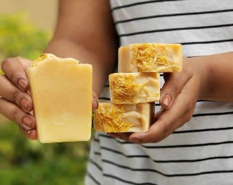 Brazilian Clay Botanical Nonscented Soap   Marigold and Clay Spa Soap