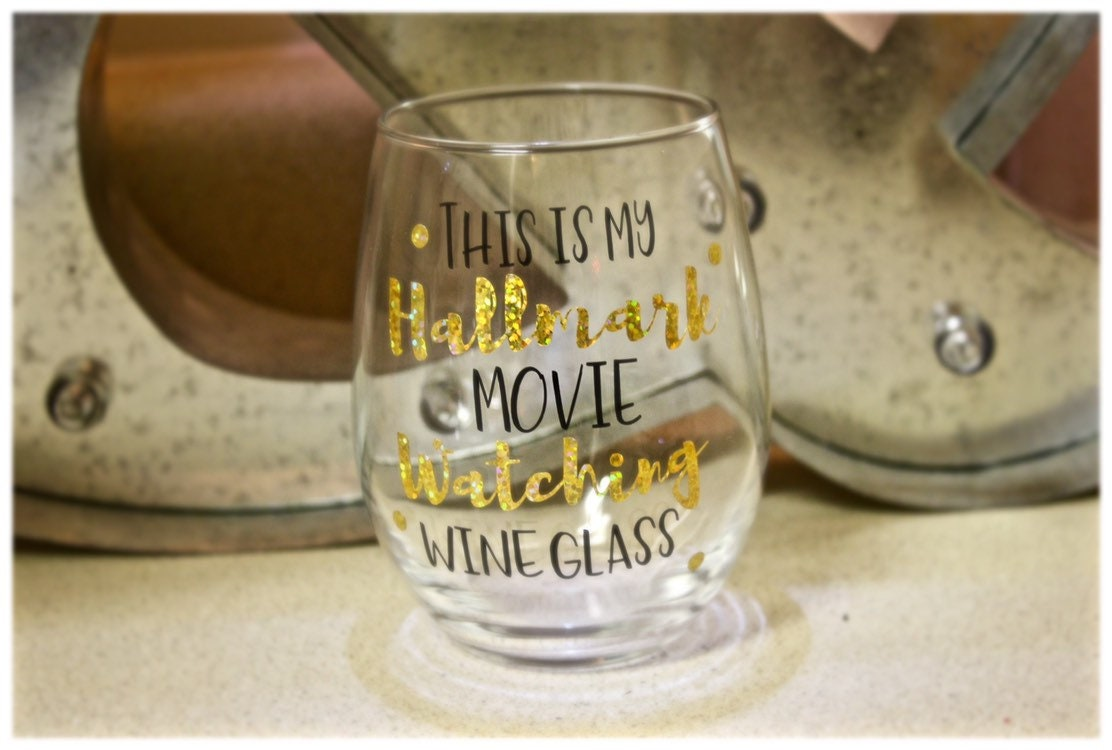 A Harvest Wedding Cast.Hallmark Watching Wine Glass