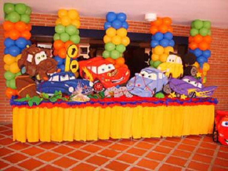 Cars Birthday Party Decorations One Standee