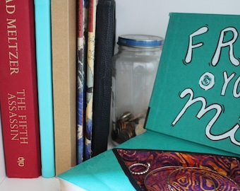 Book Box, Hidden Storage, Book Art, Free your mind