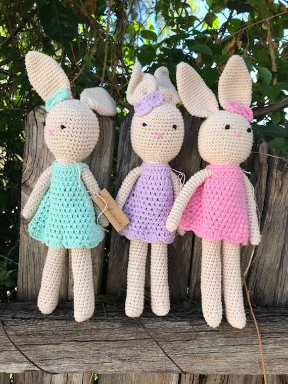 Bunny Crochet 32cm