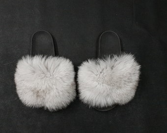 3cc6a33522ed Fur Slides