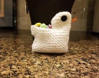 Easter Chick Basket