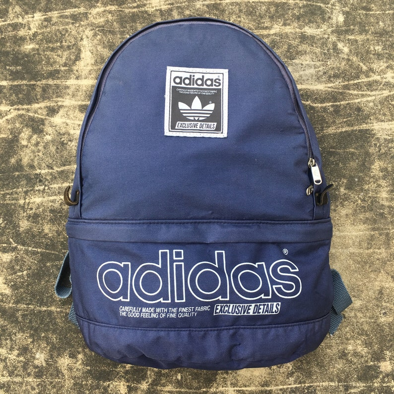 485493b592 Vintage ADIDAS produced by ACE Backpack Small Size Purple