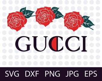 Gucci Washed SVG, Fashion inspired logos, PNG, DXF,jpg,eps Files