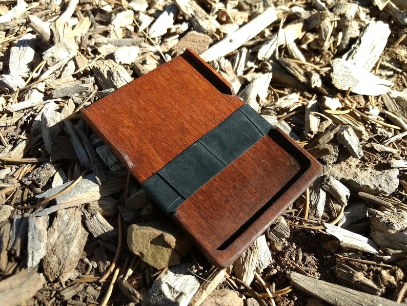 Wood Wallet image 0