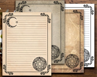 photo regarding Free Printable Book of Shadows Pages named Blank Guide of Shadows Internet pages Printable Magic Guide Site Witch