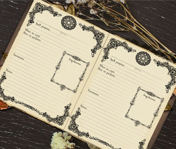 graphic relating to Printable Spell Templates titled Printable Spell Template, Guide of Shadows Site, Electronic Down load, Spell Card, Magic, Witchcraft, Wicca, Grimoire Internet pages, Pagan, Witch Guide