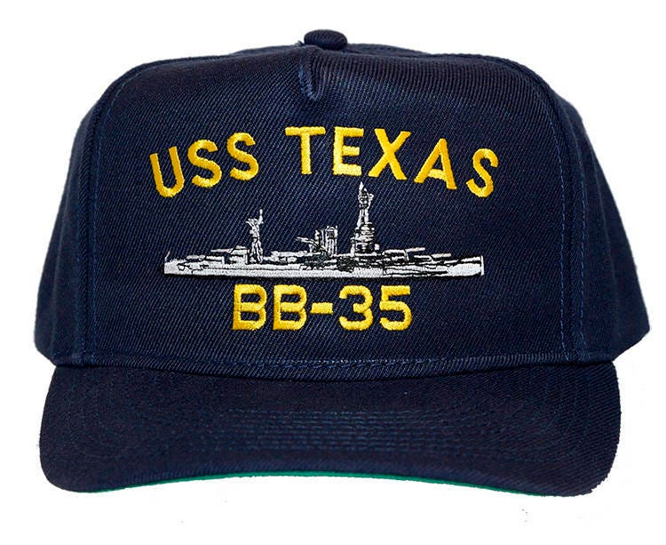3da5b574fcdd7 USS Texas BB-35 Navy Ship Ball Cap