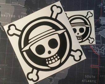 "One Piece Vinyl Decal for cars, windows, laptops, or any hard smooth surface. 3"", 6"", or 8"""
