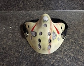 Friday The 13th Part 4 Style Jason Voorhees Half Hockey Protective / Dust Face Mask W/ Pocket + 2 Disposable Filters