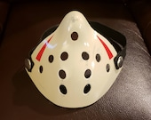 Friday The 13th Part 3 4 5 8 FvsJ Remake & NES Style Jason Voorhees Half Hockey Protective / Dust Face Mask W/ Pocket + 2 Disposable Filters