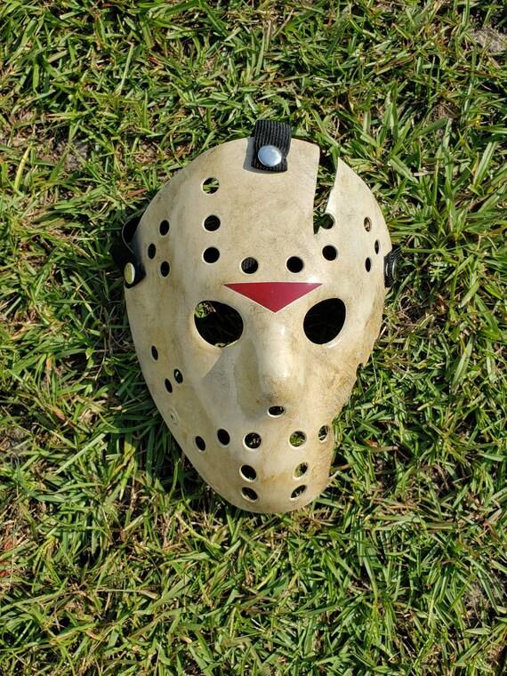 Bleeding Hockey Mask Friday 13th Jason Killer Halloween Adult Costume Accessory