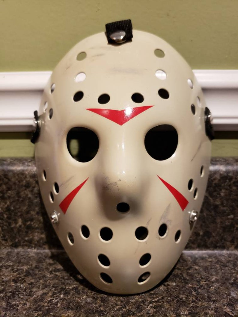 Replica Friday The 13th Part 3 Richard Brooker Jason Voorhees Hockey Mask Cosplay