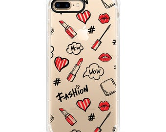 Wow Fashion iPhone Case - Anti Shock and black Edge