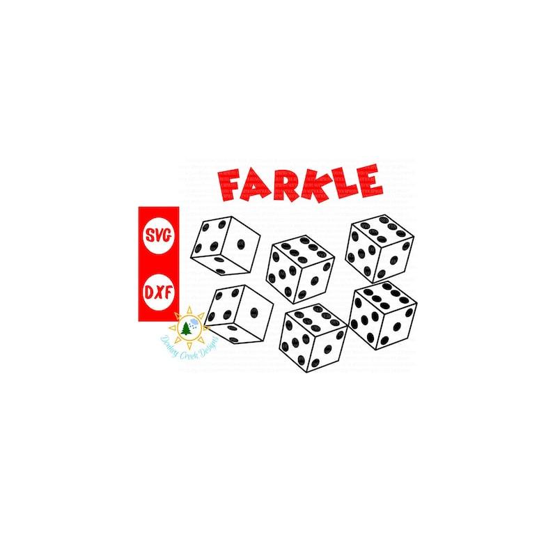 photograph regarding Farkle Instructions Printable named Farkle cube recreation SVG backyard match Farkle bucket match Rating card PDF activity suggestions pdf printable family members recreation enjoyable silhouette cricut document
