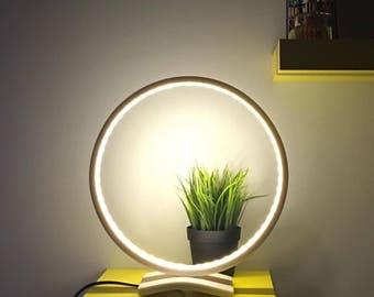 Table lamp, Desk lamp, Table light, Lighting, Modern lamp, Led lamp, Ledstrip, Bauxite design, Franke Solid Surface, YT030FL