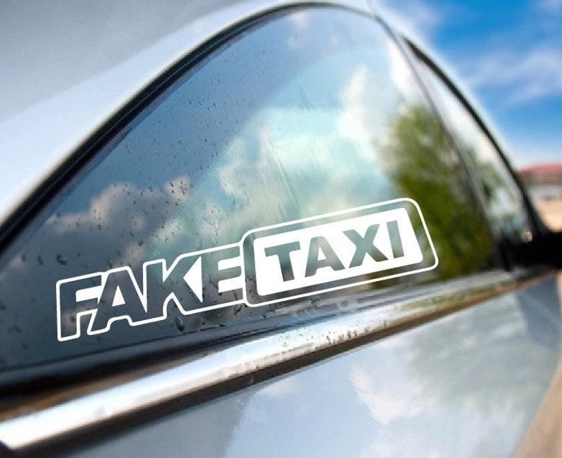 Fake taxi vinyl, fake taxi decal, fake taxi sticker, girls vinyl, girls  decal, women sticker, love vinyl make love decal make love vinyl/398