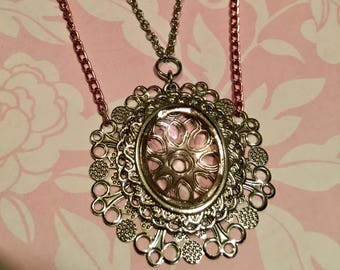Pink Double Strand Necklace