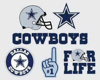 Dallas Cowboys SVG PNG DXF  File football svg files, cricut, silhouette cut file  Vector Cut File