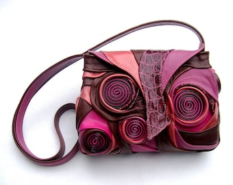 fashion handbag, unique leather bag, handmade leather bag, colorful leather bag, luxury bag, leather bag