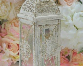 "10 1/2 ""  Metal Lantern Centerpiece, Wedding Decor. Wedding Table Centerpieces. Wedding Reception, Wedding ceremony, Engagement Party, aise."