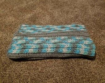Blue Lap Blanket