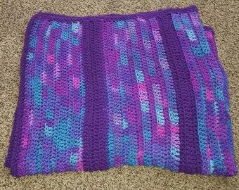 Purple Lap Blanket