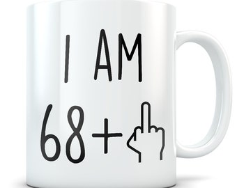 Funny 69th Birthday Gift Mug 69 Year Old Gifts Happy Bday Party Gag