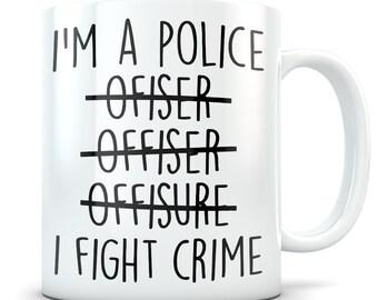 cop gift cop mug police officer gift police officer mug funny cop gift new cop gift funny police gift best police officer ever