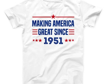 68th Birthday Present Gift Year 1951 All Original Parts T-Shirt Unisex Fun Tee