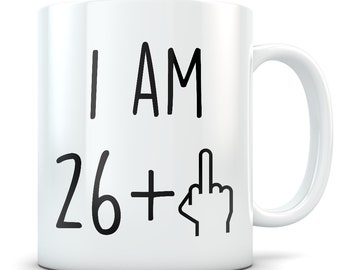 27th Birthday Gift For Women And Men Mug 27 Year Old Gifts Happy Bday Party Gag