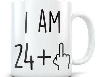 Funny 25th Birthday Gift Mug 25 Year Old Gifts Happy Bday Party Gag