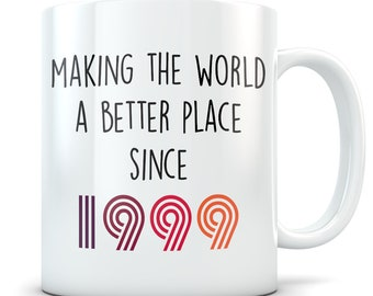 Funny 20th Birthday Gift Mug 20 Year Old Gifts Happy Bday 1999