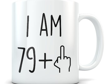 Funny 80th Birthday Gift Mug 80 Year Old Gifts Happy Bday Gag