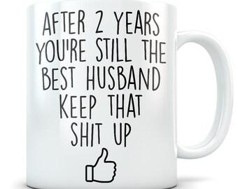 2nd Anniversary Mugs Etsy