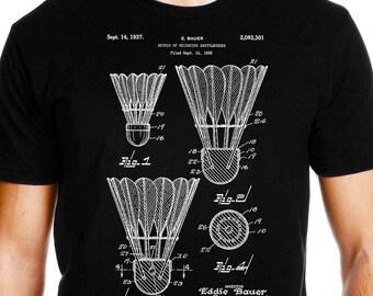 c064cda7 Badminton shirt, shuttlecock shirt, badminton gift, badminton shirt for  men, badminton shirt for women, badminton t-shirt, badminton tshirt