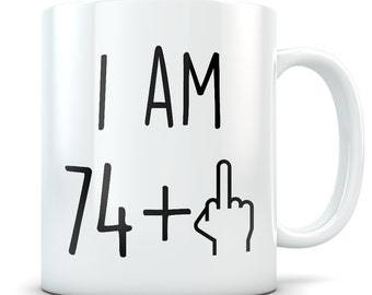 Funny 75th Birthday Gift Mug 75 Year Old Gifts Happy Bday Party Gag