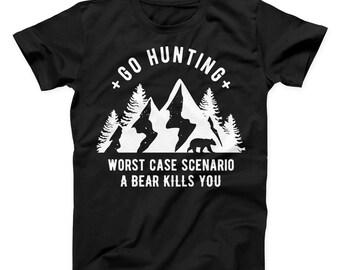 35dc4040ae0f Hunting shirt, hunter shirt, hunt shirt, hunting tshirt, hunting clothes,  hunter tshirt, funny hunting gift, funny hunting shirt