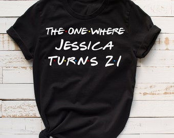 21st Birthday Shirt Gift 21 Years Old Bday Funny Party
